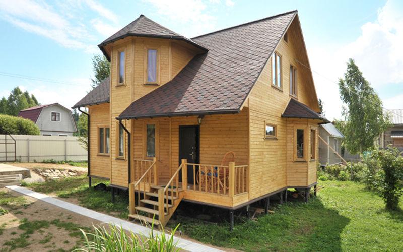"""e6dd11054f7d Клееный брус отличный материал для постройки дома, это экономично и  строится быстро. Очень доволен качеством постройки компании """"Твой Дом""""."""